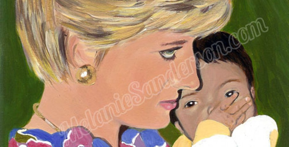 Caring Diana