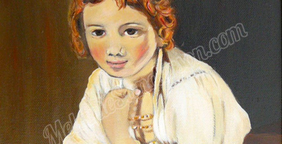 Girl on a Windowsill ^ After Rembrandt